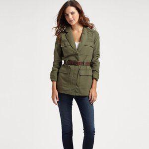 Elizabeth James S Green Surplus Military Jacket